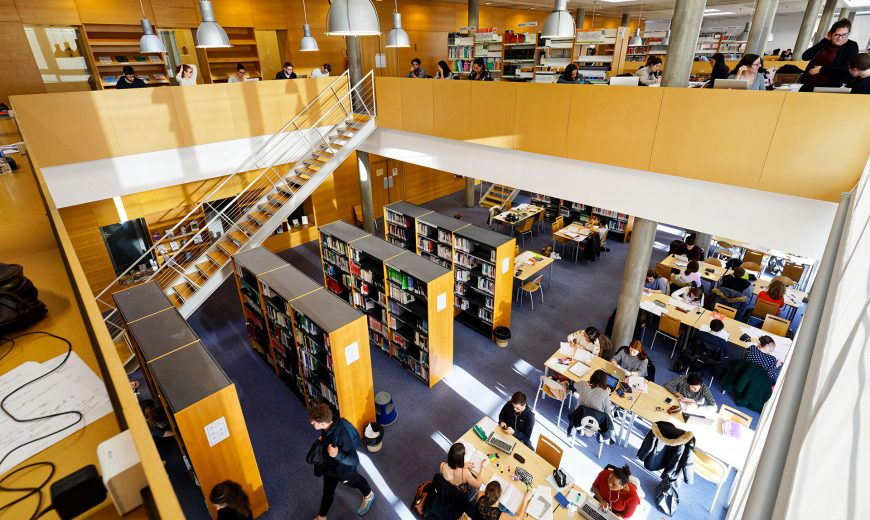 Bibliothèque Universitaire du campus de Martainville