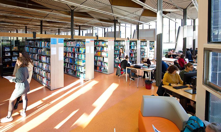 Bibliothèque Universitaire lettres