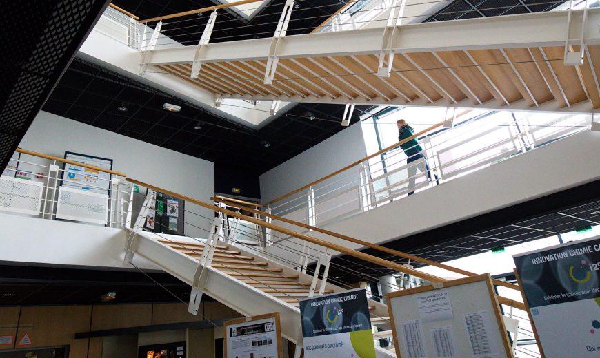 Laboratoire COBRA - escaliers