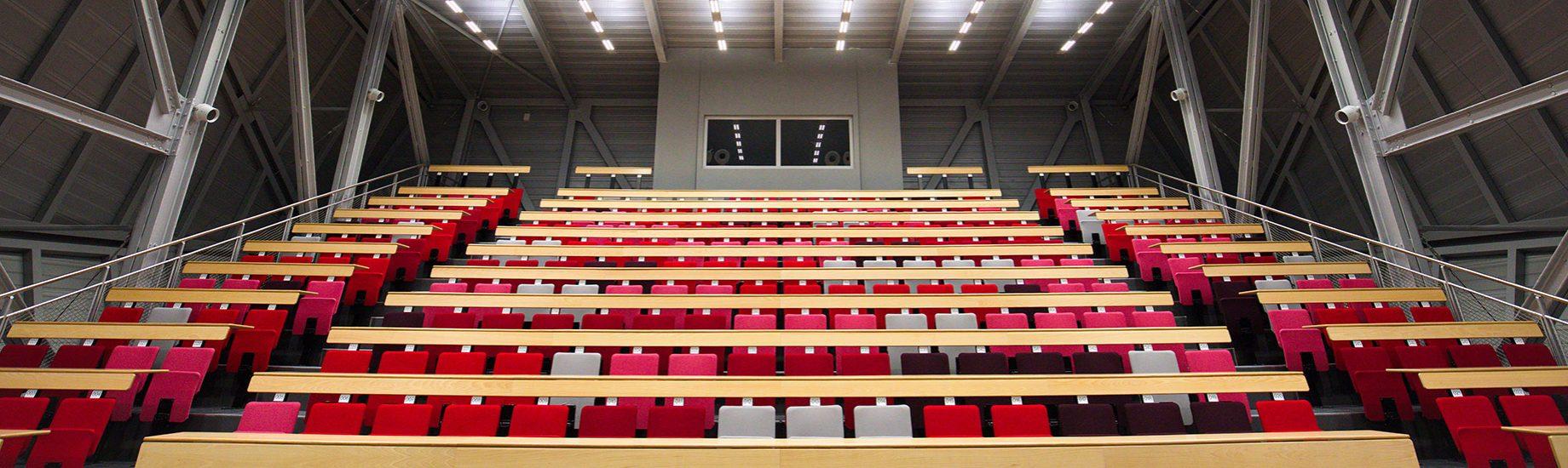 Amphithéâtre de l'UFR Sciences et Techniques