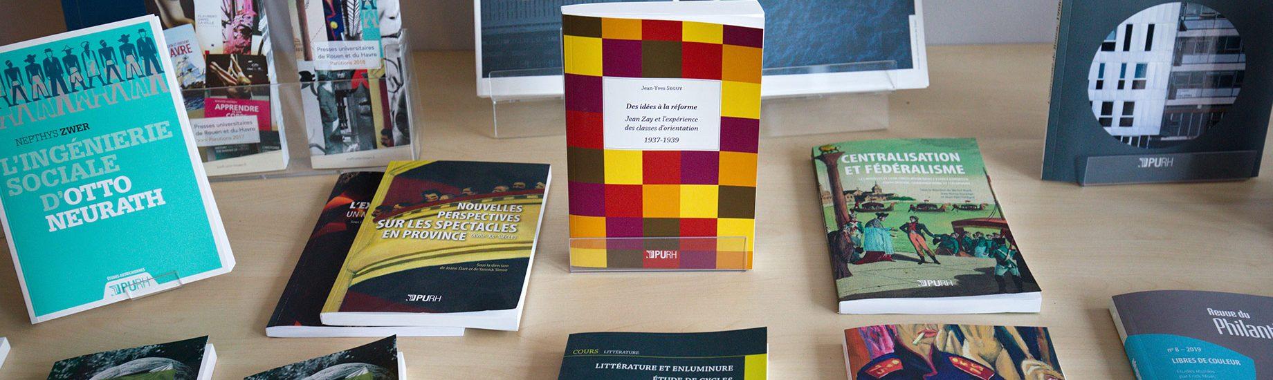 Livres publiés par les PURH