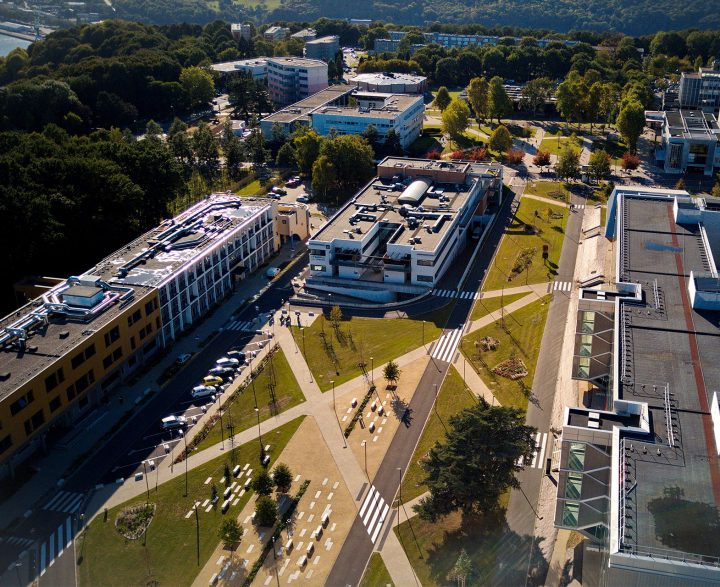 vue aerienne campus msa blondel