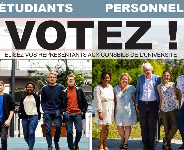 Élections universitaires 2020