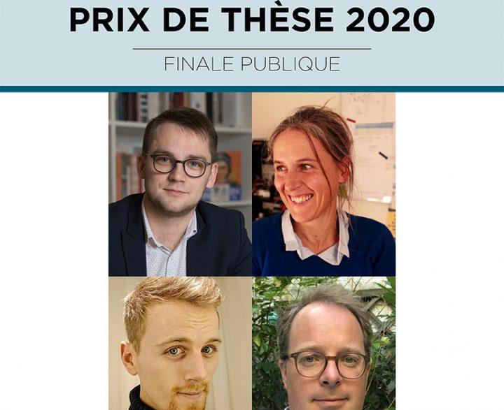 Prix de thèse 2020 - Affiche