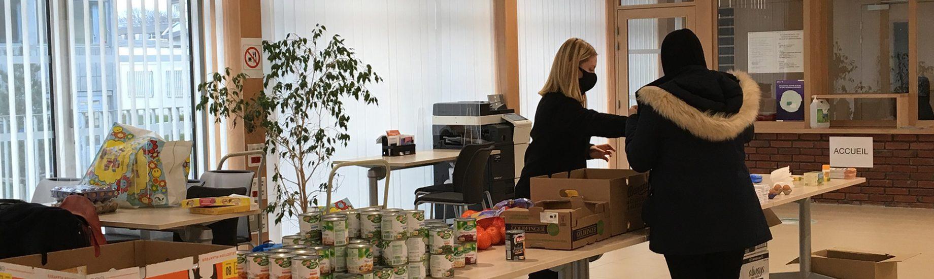 Banque alimentaire étudiants (Covid 2020)
