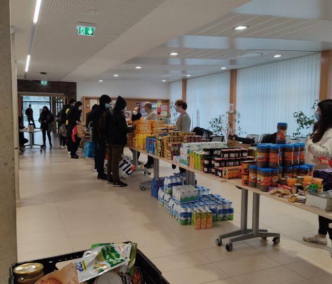 Distribution alimentaire - 28 décembre 2020
