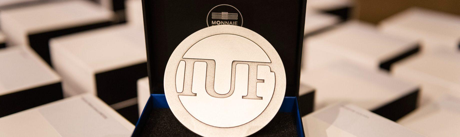 IUF - Médaille - Crédit : Hamid AZMOUN – Institut universitaire de France